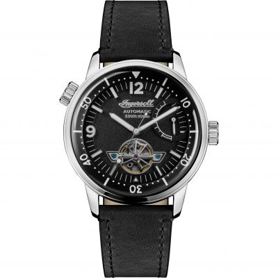 Ingersoll The New Orleans Herrenuhr in Schwarz I07801