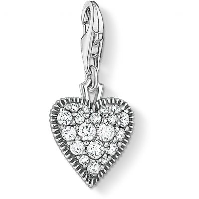 Thomas Sabo Jewellery Charm Club Heart Charm  1747-643-14