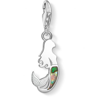 Thomas Sabo Dam Mermaid Charm Sterlingsilver 1769-509-7