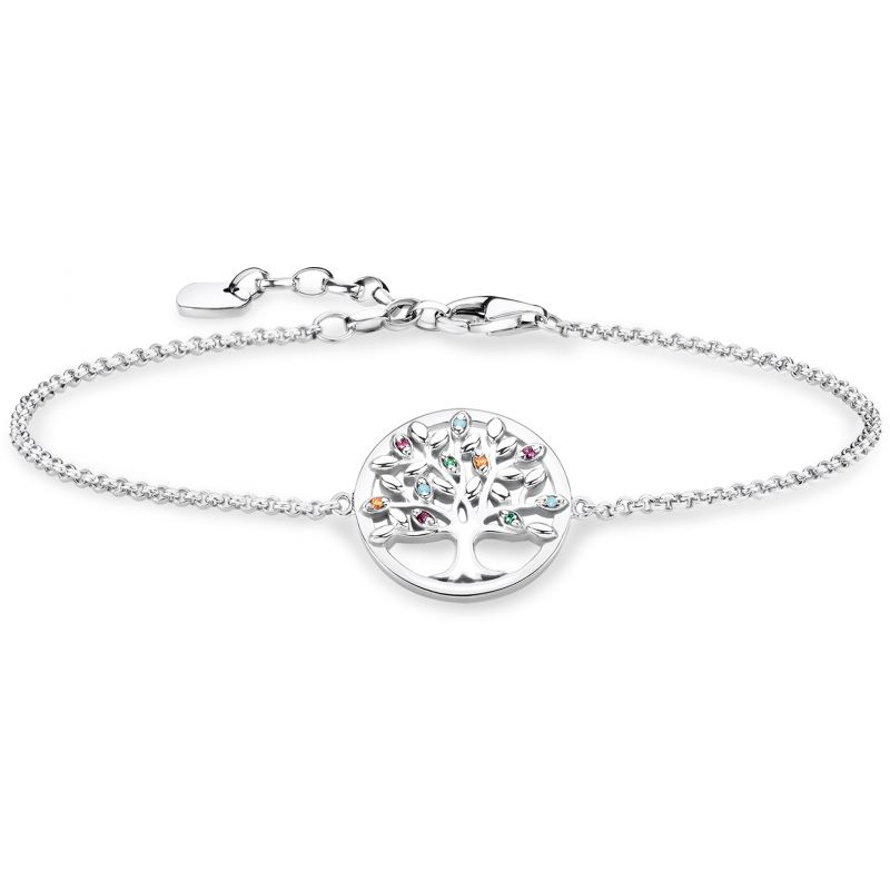 Thomas Sabo Paradise Colours Tree of Love Bracelet  A1868-477-7-L19V