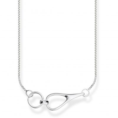 Biżuteria damska Thomas Sabo Jewellery Heritage Interlocked Silver Necklace KE1855-001-21-L45V