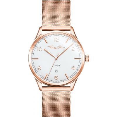 Thomas Sabo Code TS Unisexklocka Rose Gold WA0341-265-202-40MM