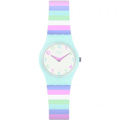 Ladies Swatch Listen To Me Pastep Watch LL121