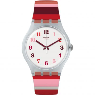 Swatch Listen To Me Tramonto Occaso Dameshorloge Tweetonig SUOK138