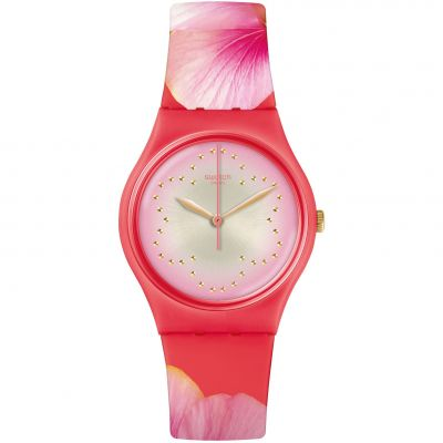 Swatch Original Gent Mothers Day Special Fiore Di Maggio Damenuhr in Pink GZ321