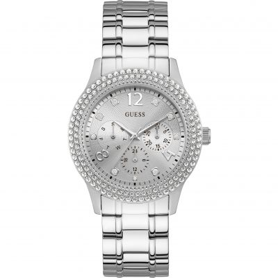 Ladies Bedazzle Guess Watch W1097L1