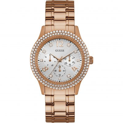 Ladies Bedazzle Guess Watch W1097L3