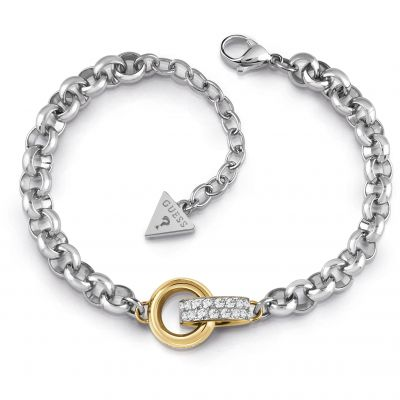 Ladies Guess Jewellery Embrace Bracelet UBB78092-L