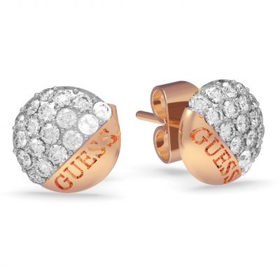 Ladies Guess Jewellery Embrace Earrings UBE78050