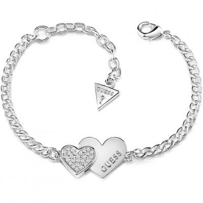 Ladies Guess Jewellery Me & You Bracelet UBB84123-L