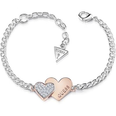 Ladies Guess Jewellery Me & You Bracelet UBB84125-L