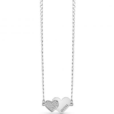 Ladies Guess Jewellery Me & You Necklace UBN84074