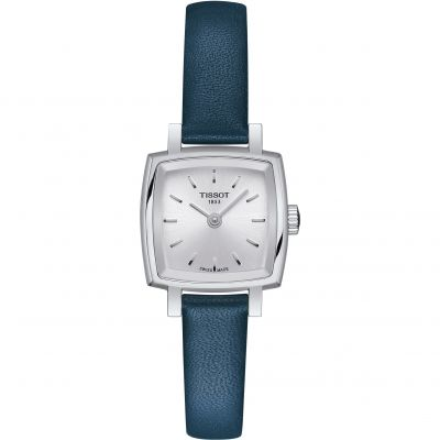 Tissot Lovely Square Dameshorloge Blauw T0581091603100