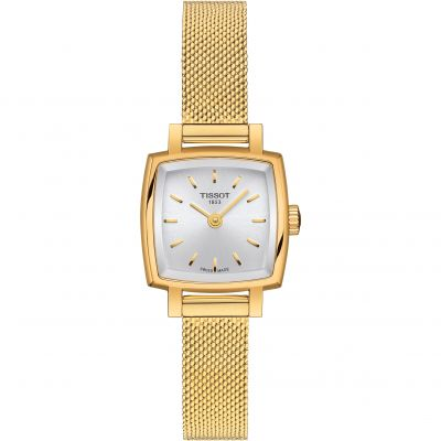 Tissot Lovely Square Dameshorloge Goud T0581093303100