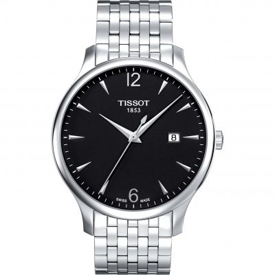 Tissot Tradition Herenhorloge Zilver T0636101105700