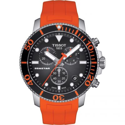 Tissot Seastar 1000 Herrklocka Orange T1204171705101