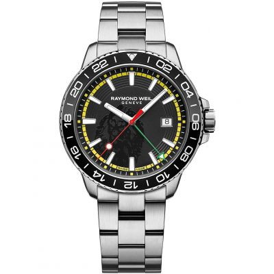 Mens Raymond Weil Tango GMT Bob Marley Limited Edition Watch 8280-ST1-BMY18
