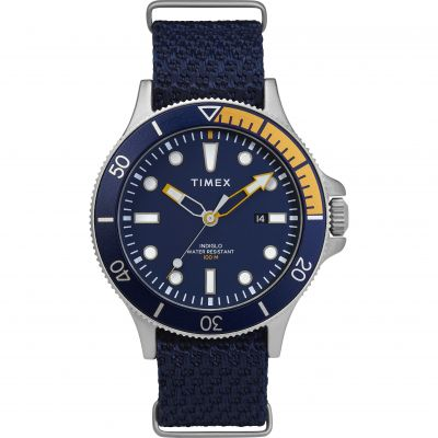 Timex Expedition Allied Coastline Herrklocka Blå TW2T30400