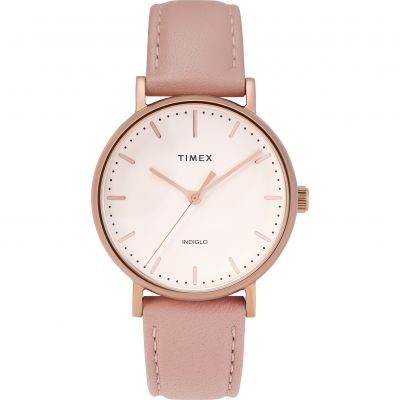 Timex Fairfield Dameshorloge Roze TW2T31900