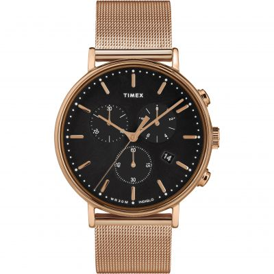 Timex Fairfield Unisexkronograf Rose Gold TW2T37100