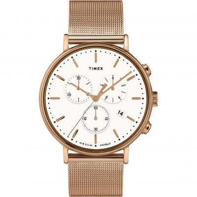 Timex Fairfield Unisexkronograf Rose Gold TW2T37200