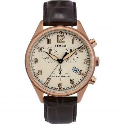Timex Waterbury Traditional Herenchronograaf Zwart TW2R88300