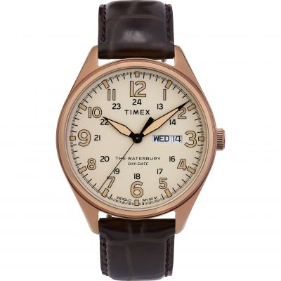 Timex Waterbury Traditional Herenhorloge Zwart TW2R89200
