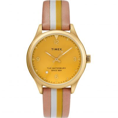 Timex Waterbury Traditional Dameshorloge Meerkleurig TW2T26600