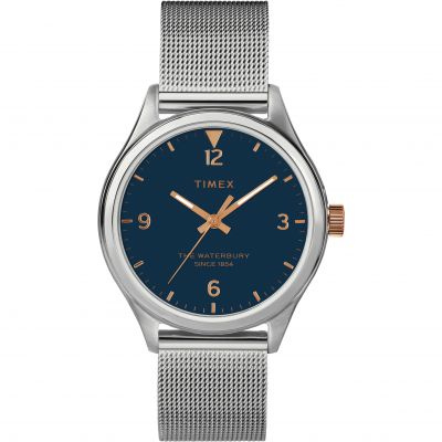 Timex Waterbury Traditional Dameshorloge Zilver TW2T36300