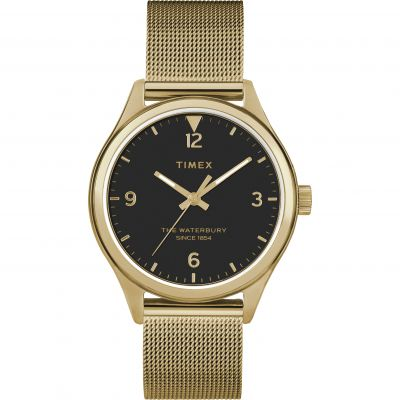 Timex Waterbury Traditional Dameshorloge Goud TW2T36400