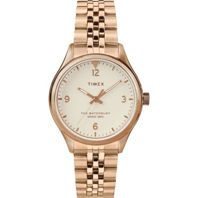 Timex Waterbury Traditional Dameshorloge Rose Gold TW2T36500