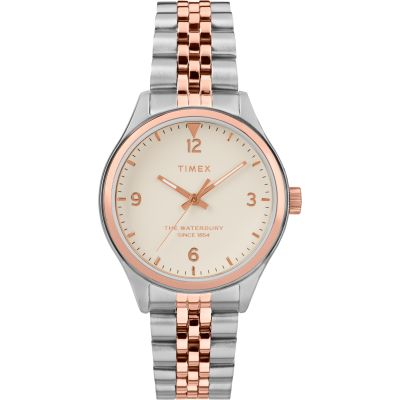 Timex Waterbury Traditional Dameshorloge Tweetonig TW2T49200