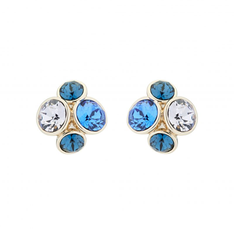 Lynda Jewel Cluster Stud Earrings TBJ496-24-35