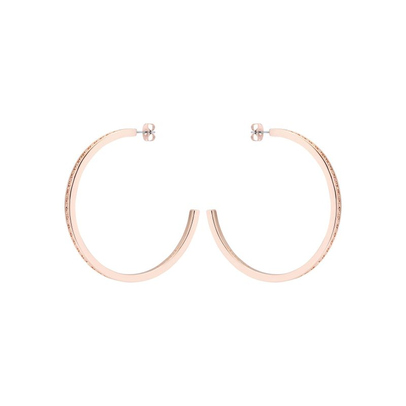 Senra Large Crystal Hoop Earrings TBJ2186-24-02