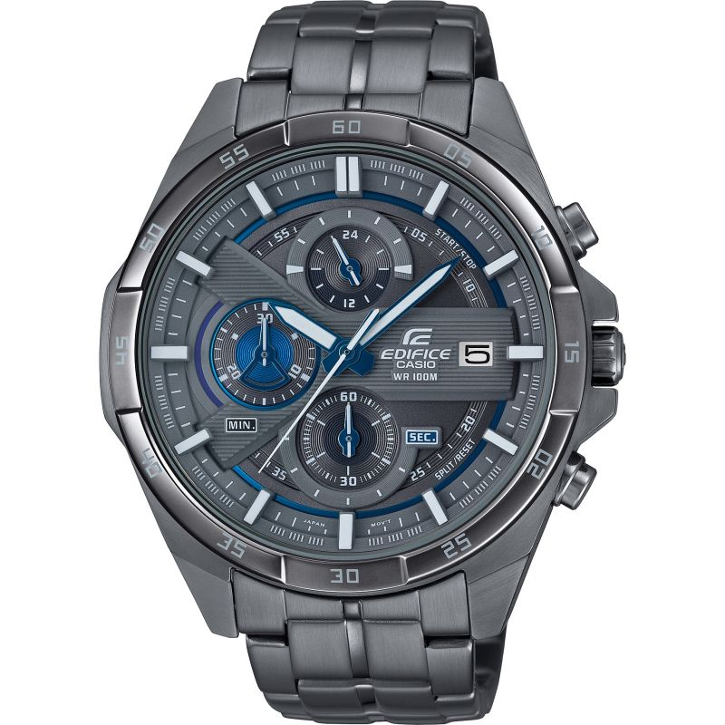 Mens Casio Edifice Chronograph Watch EFR-556GY-1AVUDF