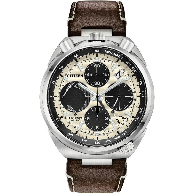 Mens Citizen Promaster Bullhead Tsuno Alarm Chronograph Watch