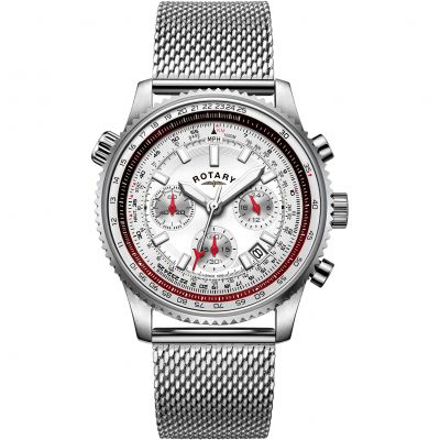 Mens  Pilot Chronograph Watch