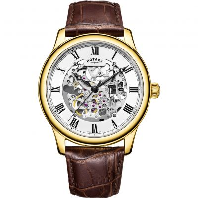 Men's Rotary Skeleton Watch GS00626/01