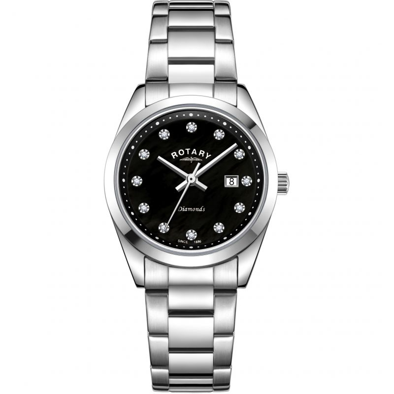 Ladies Rotary Diamond Set Watch LB00275/15