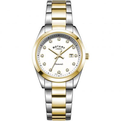 Ladies Rotary Diamond Set Watch LB00276/29