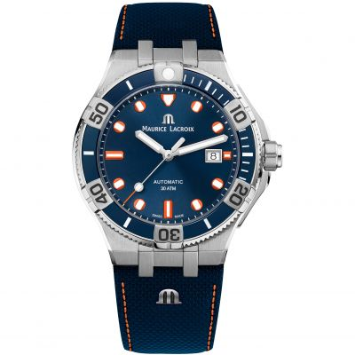 Maurice Lacroix Aikon Venturer TimeCode Limited Edition Herenhorloge Blauw AI6058-SS002-431-1