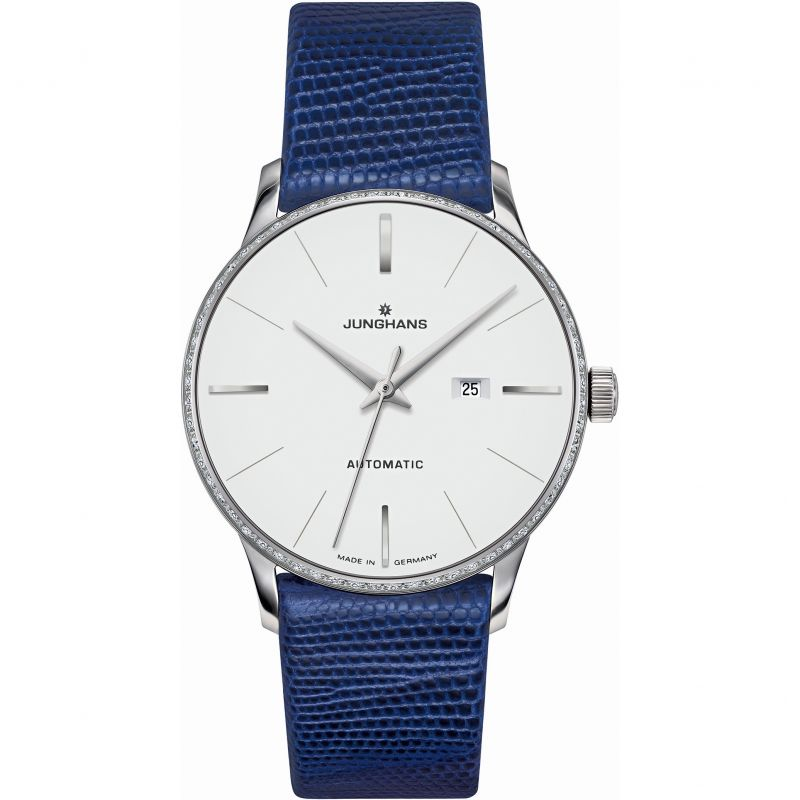 Ladies Junghans Meister Damen Automatic Diamond Watch 027/4846.00