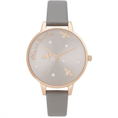 Reloj para Mujer Olivia Burton Vegan London Grey & Rose Gold OB16PQ03