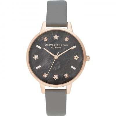 Reloj para Mujer Olivia Burton Vegan London Grey & Rose Gold OB16GD55