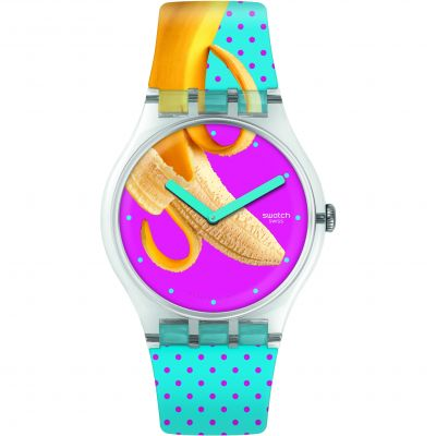 Swatch Energy Boost Banana Slip Unisexuhr SUOK140