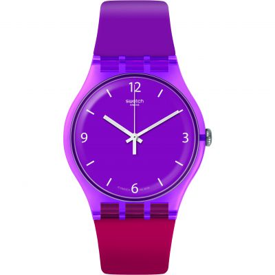 Swatch Energy Boost Cherryberry Unisexuhr SUOV104