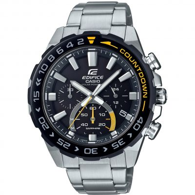 Mens Casio Edifice Chronograph Watch EFS-S550DB-1AVUEF
