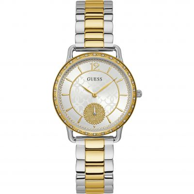 Guess Astral Damklocka Two-Tone Gold W1290L1