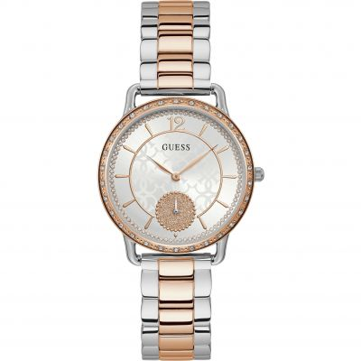 Guess Astral Damklocka Two-Tone Rose W1290L2