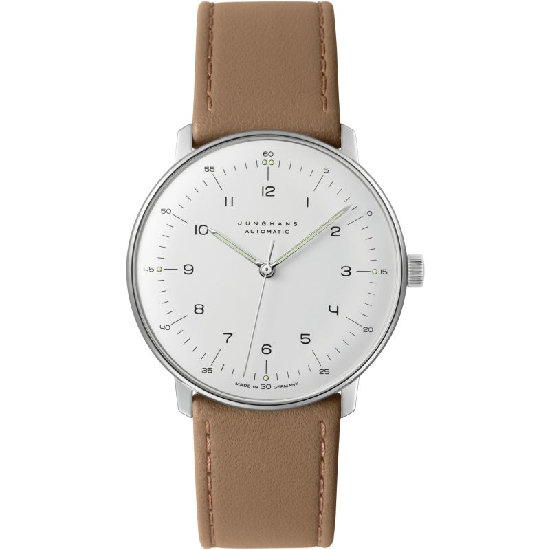 Mens Junghans Max Bill Automatic Watch 027/3502.04